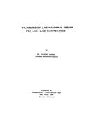 Transmission Line Hardware for Live-Line Maintenance